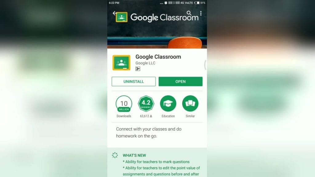 Google Classroom - как скачать